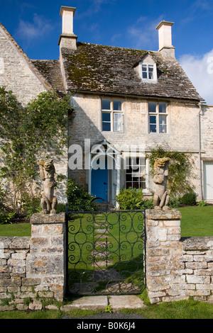 Ferienhaus in Cotswolds Oxfordshire Großbritannien - Stockfoto