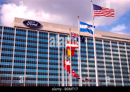 Ford World Headquarters - Stockfoto