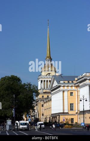 Die Admiralität, St. Petersburg, Russland - Stockfoto