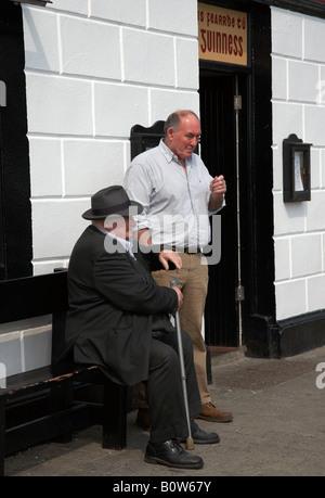 alte irische Männer