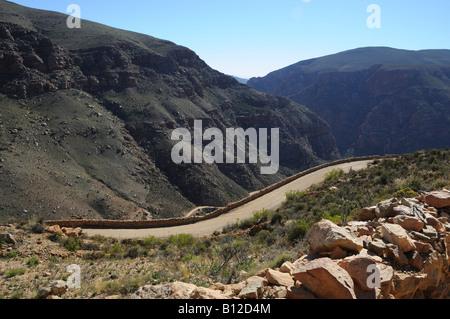 Swartberg Pass, Western Cape-Südafrika - Stockfoto