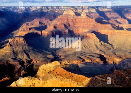 USA Arizona Grand Canyon National Park South Rim Mather Point - Stockfoto
