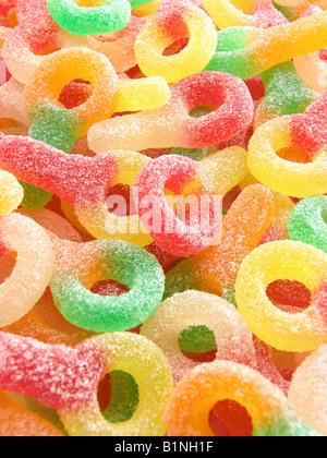 Brause Bonbons Attrappen - Stockfoto