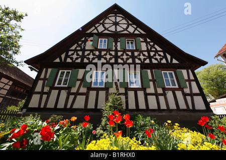 Fachwerkhaus mit garten in stockheim rhoen grabfeld for Fachwerk vechta