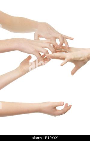 Hände - Stockfoto