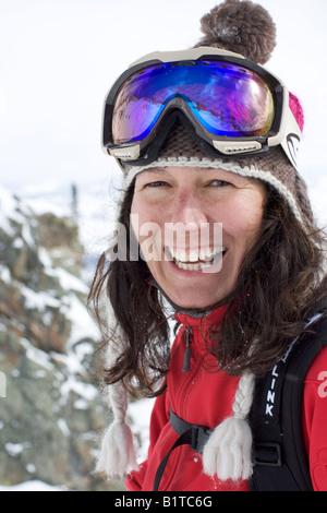 AJ Cargill in Jackson Hole - Stockfoto