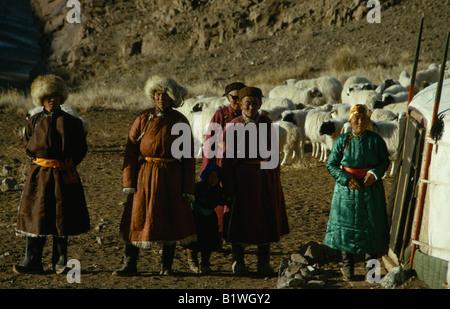 Mongolei Wüste Gobi Biger Negdel - Stockfoto
