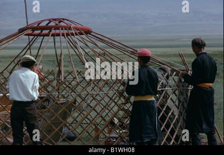 Mongolei Wüste Gobi - Stockfoto