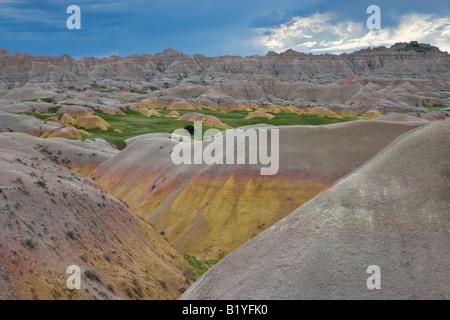 Erosional Merkmale der Badlands National Park s Dakota USA, durch Willard Clay/Dembinsky Foto Assoc - Stockfoto