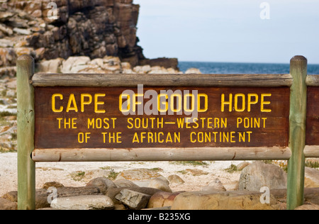 Kap der guten Hoffnung in der Nähe von Cape Town, Südafrika - Stockfoto