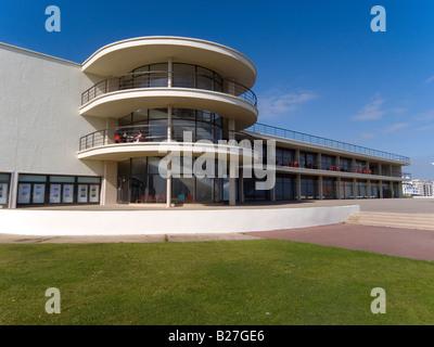 Die modernistische De La Warr Pavilion Bexhill am Meer Sussex UK - Stockfoto