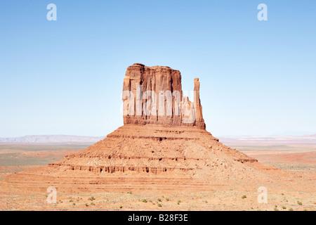 Die Handschuhe im Monument Valley in Utah, USA - Stockfoto