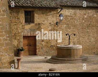 Eine ruhige Ecke in Monticello Toskana Datum 09 06 2008 Ref ZB959 114807 0013 obligatorische CREDIT Welt Bilder - Stockfoto