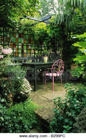 privatgarten london design jonathan baillie schattigen garten, Garten und bauen