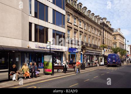 Fawcett Street Sunderland City Centre-Nord-Ost England UK Stockfoto ...