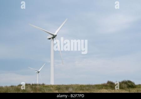 Windkraftanlagen auf einen Windpark - Stockfoto
