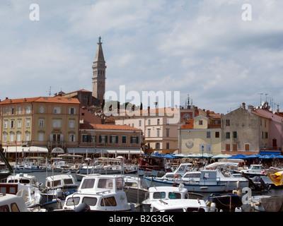 Altstadt von Rovinj (Rovigno) Istrien Kroatien Europa - Stockfoto