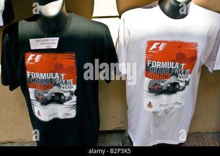 Souvenirs für die Fans der Formel 1 Grand Prix von Monaco.