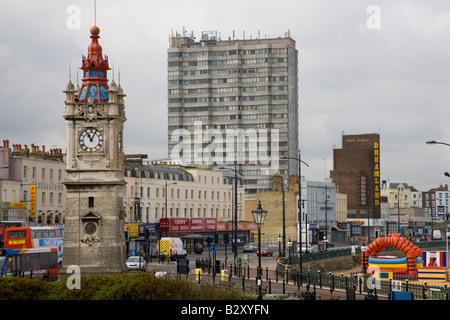 Stadtzentrum von Margate in Kent - Stockfoto