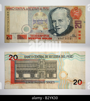 Peruanische whrung banco central de peru stockfoto bild 19098429 peru geld viente nuevos soles stockfoto thecheapjerseys Images