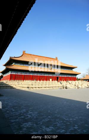 Der Kaiserpalast, Peking, China - Stockfoto