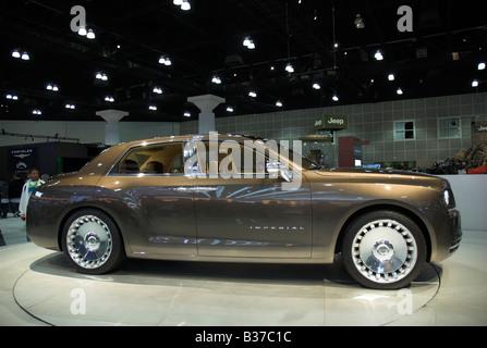 Chrysler Imperial Concept Car Auf Der North American International