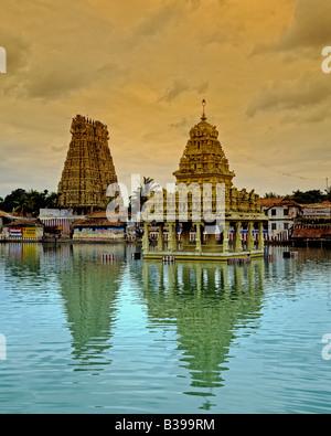 1192 Suchindrum Tempel Tamil Nadu Staat Indien - Stockfoto