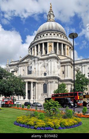 St Pauls Cathedral in 2008 nach umfangreichen sauber - Stockfoto
