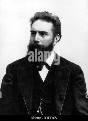 Roentgen, Wilhelm Conrad, 27.3.218 - 10.2.1923, deutscher Physiker, Porträt, Ende des 19. Jahrhunderts, - Stockfoto