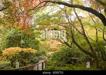 Japanischer Garten Butchart gardens - Stockfoto