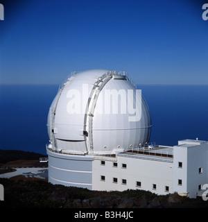 William Herschel Teleskop - Stockfoto