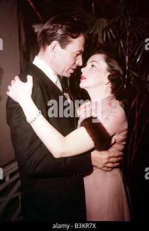 Ein STAR ist geboren 1954 Warner-Film mit Judy Garland und James Mason - Stockfoto