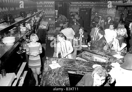 SPEAKEASY Pop Musik orientierte Club in 60er Jahren London - Stockfoto