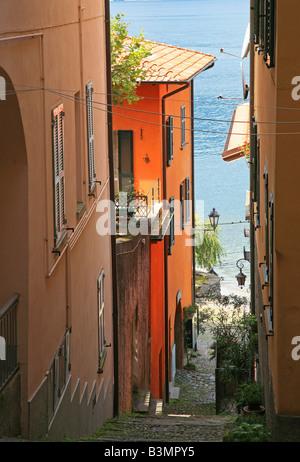Varenna-Comer See-Lombardei-Italien-Europa - Stockfoto