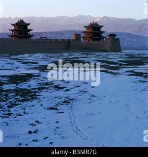 Festung Jiayuguan, Gansu, China - Stockfoto