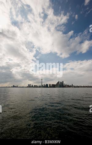 Die Skyline von Toronto. - Stockfoto