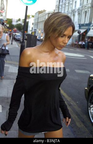 Victoria Beckham Zeigen Sie Ihre Neue Frisur Ohne Die Erweiterungen