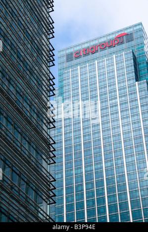 Citigroup Centre, Canary Wharf, London, Großbritannien - Stockfoto