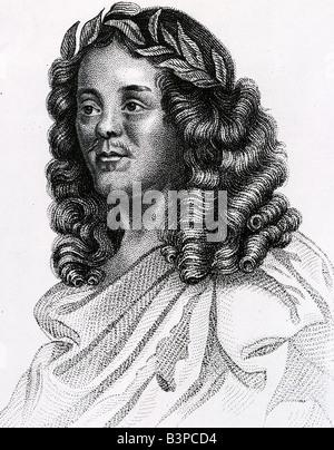 WILLIAM D'AVENANT englischer Dichter und Dramatiker 1606-1668 Gerüchte, dass Shakepeares Illigitimate Sohn