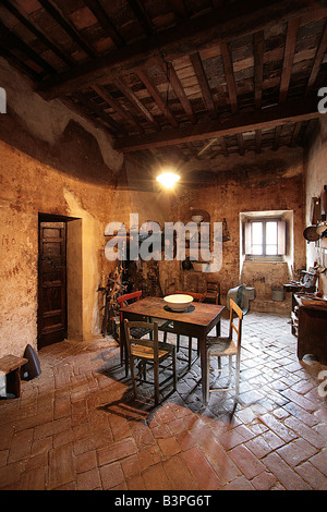 Casa Museo, Monticello Amiata Monte Amiata und Umgebung, Toskana, Italien - Stockfoto