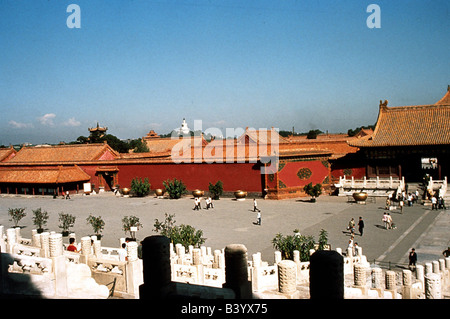 Geographie / Reisen, China, Peking, Palast des Kaisers in die Verbotene Stadt, UNESCO, Weltkulturerbe