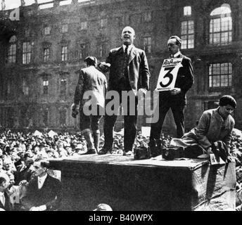 Thielmann, Ernst, 16.4.1886 - 28.8.1944, deutscher Politiker, Vorsitzender der Kommunistischen Partei 1925 - 1933, - Stockfoto