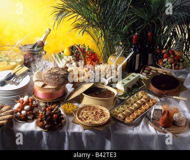 Frühstücksbuffet - Stockfoto