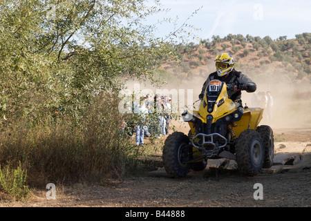 Pax-Rallye-Lisboa Portimão - Dakar Series - Quad-Bike-101 - Xtremeplus-Team - Jean Claude Auer - Stockfoto