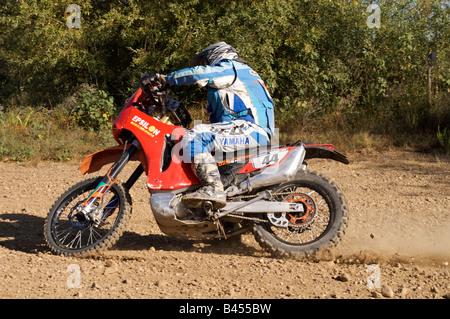 Pax-Rallye-Lisboa Portimão - Dakar Series - Bike 44 - Epsilon-Team - Cristobal Guerrero - Stockfoto