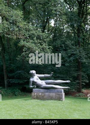 Otterloo, Rijksmuseum Kröller-Müller, Skulpturenpark, Maillol-Skulptur