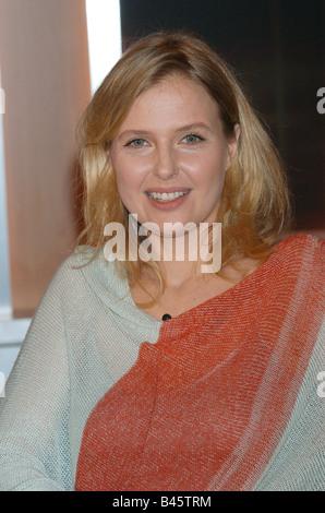 """Böhm, Katharina, * 20.11.1964, österreichische Schauspielerin, Porträt, Gast in der TV-Show """"Johannes B. Kerner"""", Hamburg, 20.1.2005,"""