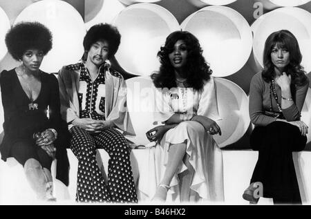 Les Humphries Singers, pop Group, 1972, Additional-Rights-Spiel-NA - Stockfoto