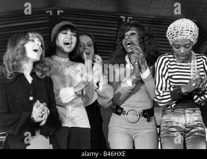 Les Humphries Singers, Popgruppe, 1972, - Stockfoto