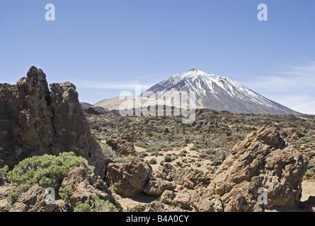Geographie/Reisen, Spanien, Kanarische Inseln, Teneriffa, Landschaft, landschaften, Parque Nacional del Teide, Landschaft, - Stockfoto
